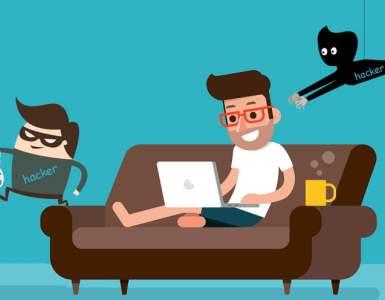 hacker saat WFH