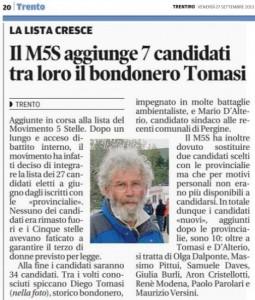 0927_Il M5S aggiunge 7 candidati