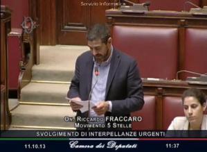 Interpellanza in Aula di Riccardo sul TAV Brennero: «Governo fermi speculazione»