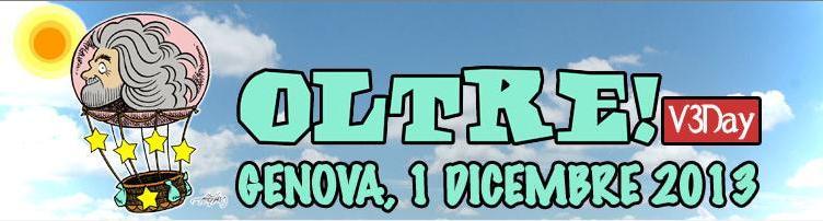 V3day: Trasferta a Genova – Domenica 1 dicembre 2013