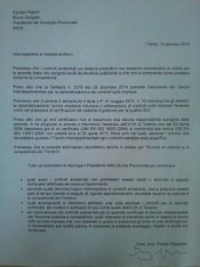 Secondo la PAT meglio meno controlli ambientali per le aziende certificate: peccato che anche l'ILVA di Taranto lo fosse