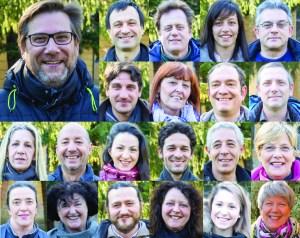 Candidati di lista M5S per elezioni comunali di Riva del Garda 2015