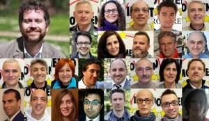 Candidati di lista M5S per elezioni comunali di Rovereto 2015