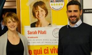25 aprile a Lavis con Sarah Pilati e i Candidati M5S