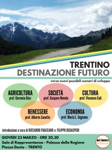 Trentino, destinazione futuro. Cinque professori a confronto per costruire un progetto di lungo periodo