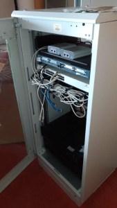 Nodo wireless di Trentino Network nell'ex Hotel Panorama di Sardagna in balia di vandali, abbandono e degrado