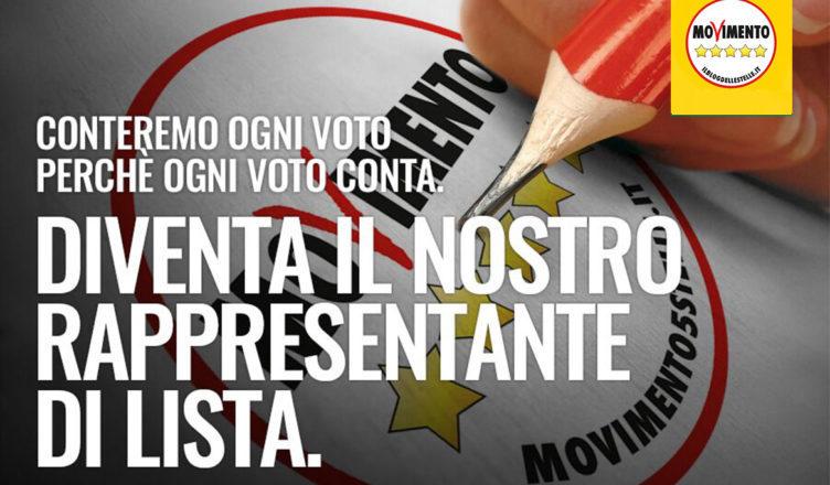 Diventa Rappresentante di Lista del Movimento 5 Stelle in Trentino