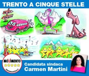 Volantino Iniziative M5S per Trento 2020