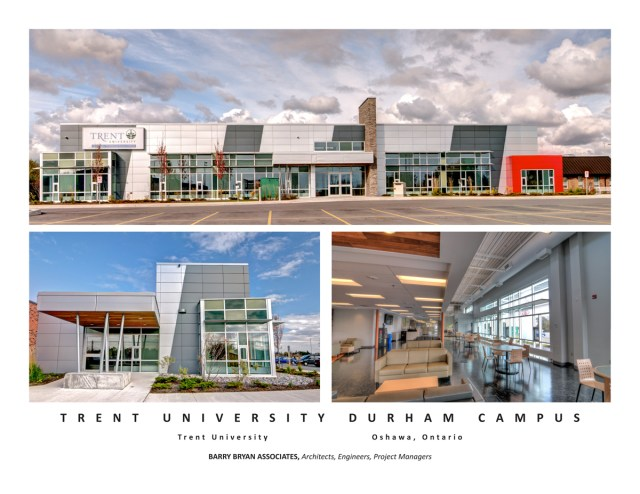 The Architect: Barry Bryan Associates - Trent University - Durham GTA
