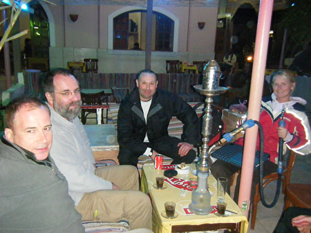 The Shisha bar in town. And no its not what you might think in the pipe!