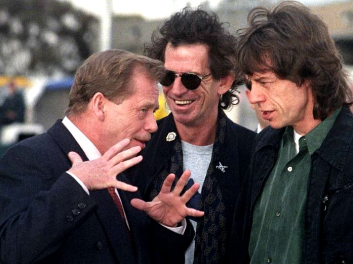 Vaclav Havel and the Rolling Stones
