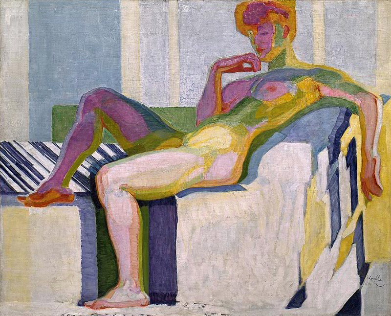 Kupka: Planes by Colors, Large Nude c. 1909-1910