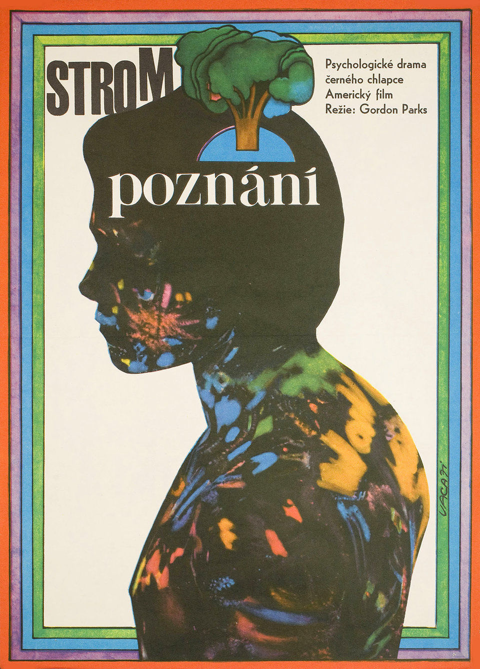 The Learning Tree 1971 Original Czech Republic Movie Poster