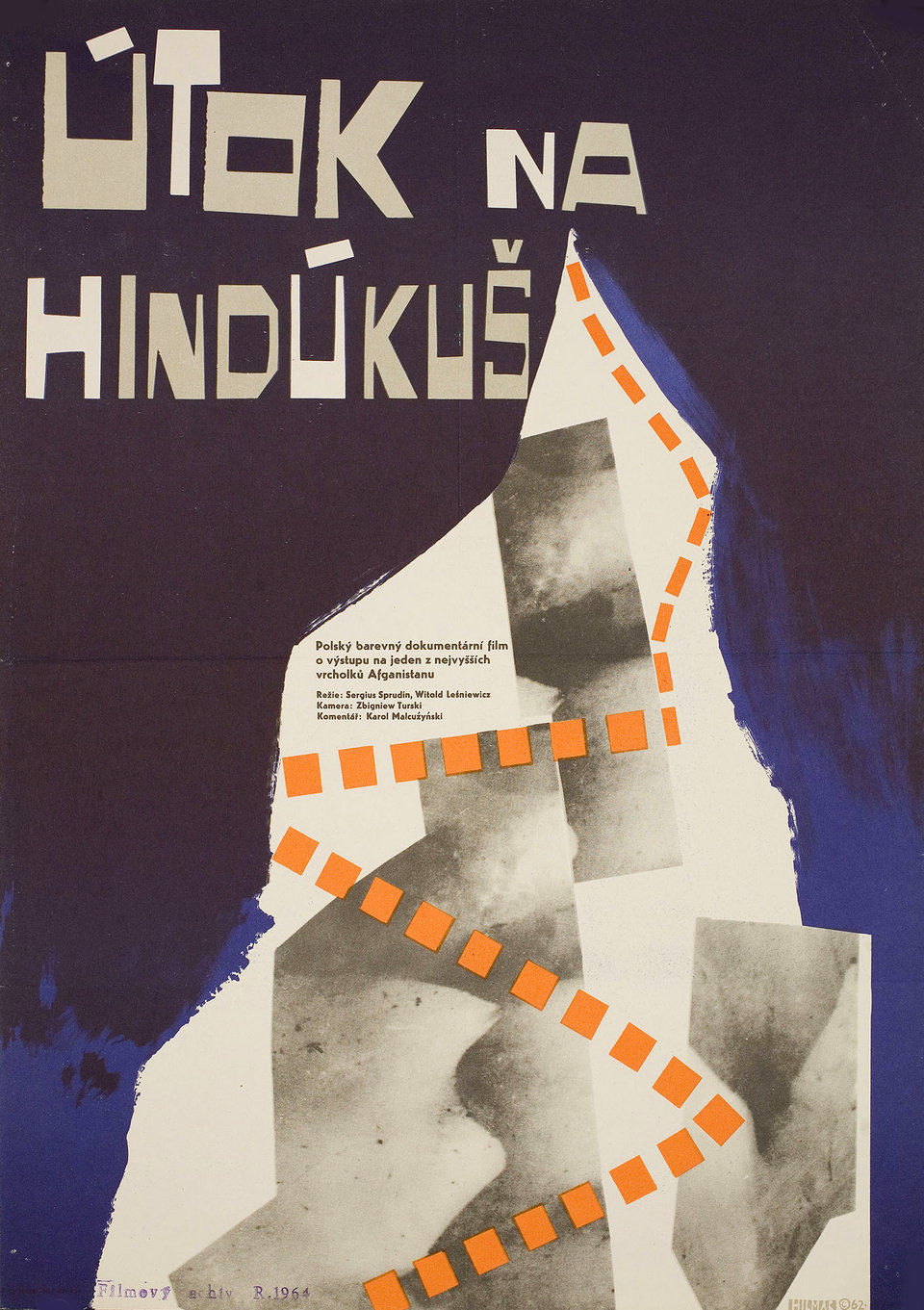 hindu-kush-1963-original-czech-movie-poster