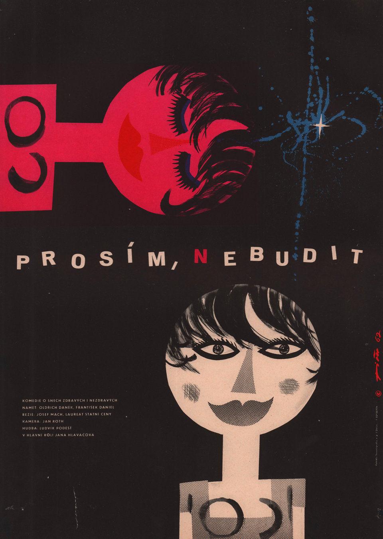 no-waking-up-please-1961-original-czech-republic-movie-poster