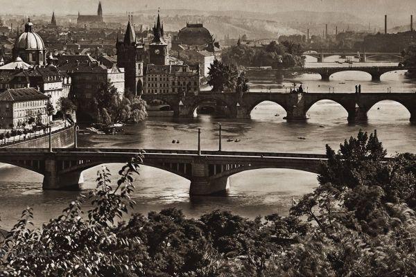 The Bridges Over the Vltava River