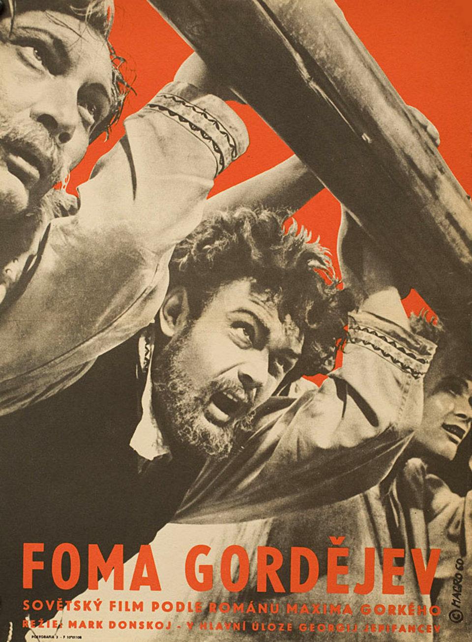 the-gordayev-family-1960-original-czech-republic-movie-poster