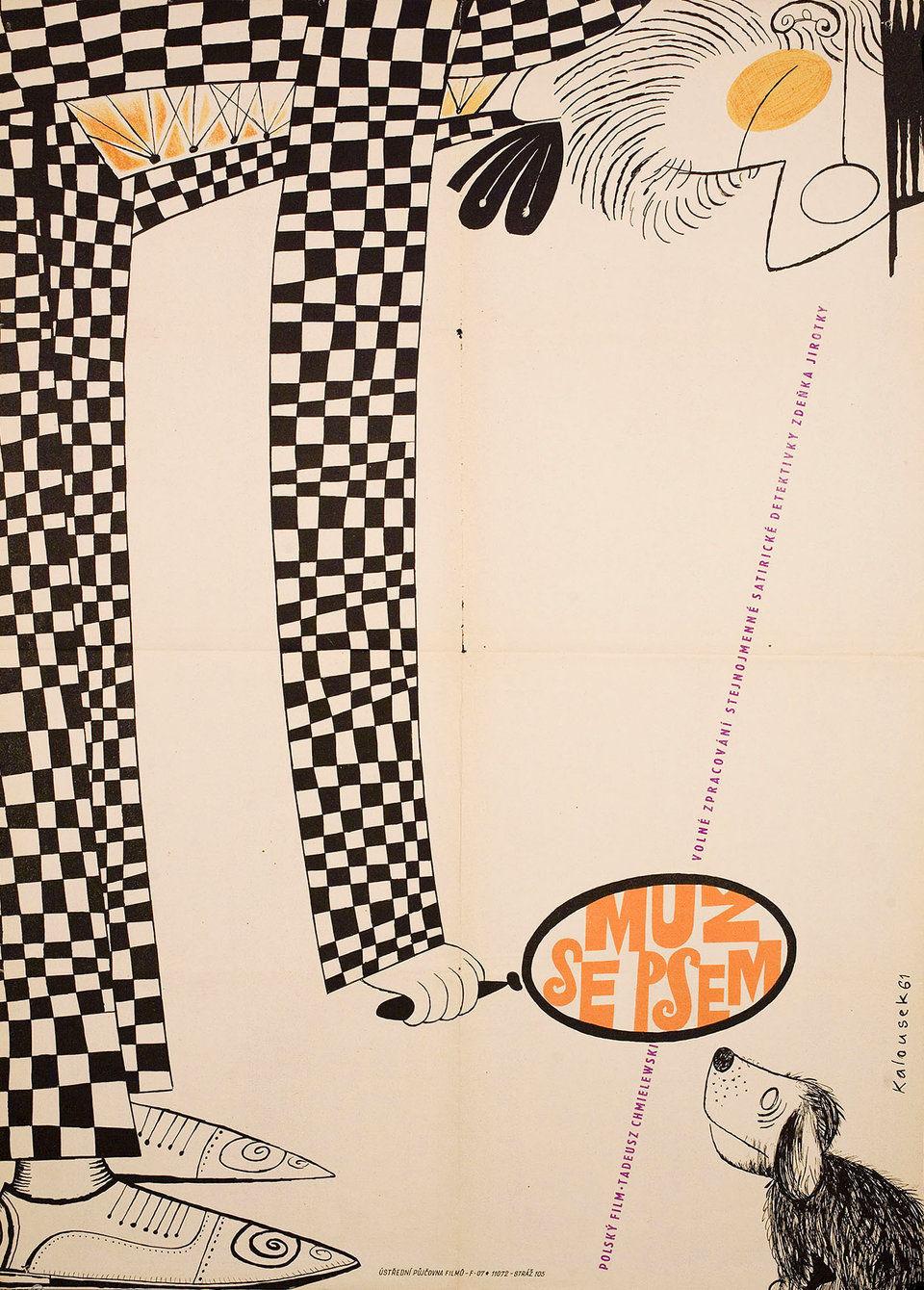the-knave-of-spades-1961-original-czech-movie-poster