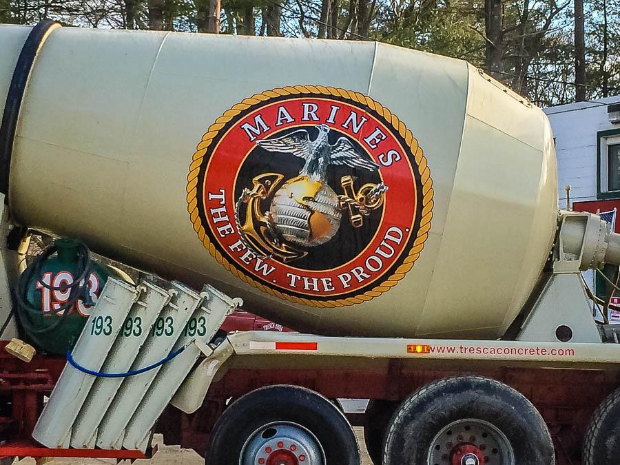 Boston Ready Mix - Marines