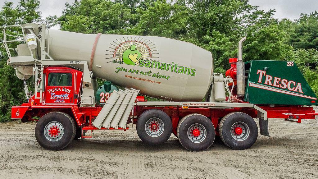 Samaritan Hope Concrete Truck