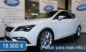 Concesionario coches Automóviles 3Darc: C/ Ciutat d'Asunción, 44 , 08030 BCN (Jto. cc. La Maquinista). Coches de Ocasión y segunda mano garantizados en Barcelona. Seat Leon FR Gasolina
