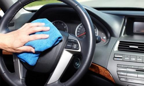 Limpieza y desinfección de vehículos de segunda mano. Desinfección con ozono.