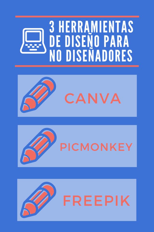 3 HERRAMIENTAS DE DISEÑO PARA NO DISEÑADORES