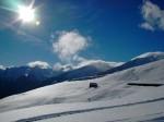 Giornata splendida e neve fresca: l'anno non poteva iniziare meglio!