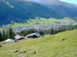 Panoramica su Davos.
