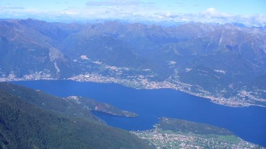 Vista sul Lago di Como.
