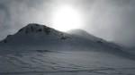 Neve sole e nebbia.