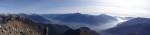 Panoramica dal Monte Duria.