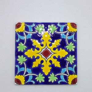 Carreau Aimant / Magnet Carré Motif Traditionnel en céramique CD73 produit iranien