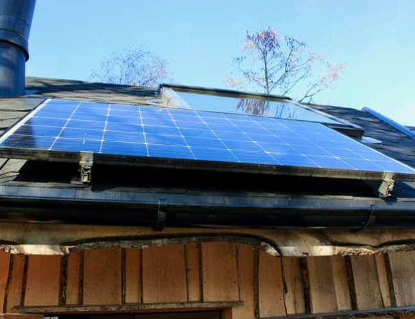 Beverhytta solcellepanel
