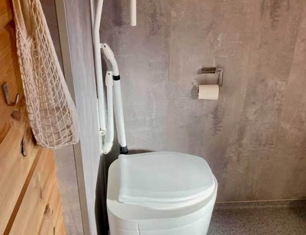 Beverhytta toalett inne