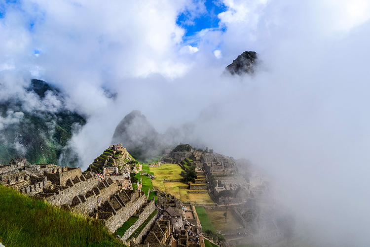 Ancient Ruins in Peru called Machu Picchu