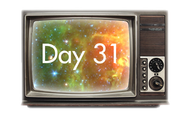 TV With Day 31 and Stars inside