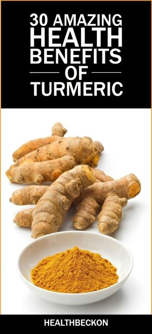 30 Amazing Health Benefits of Turmeric