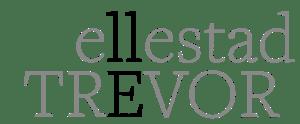 Grey and black Trevor Ellestad Logo
