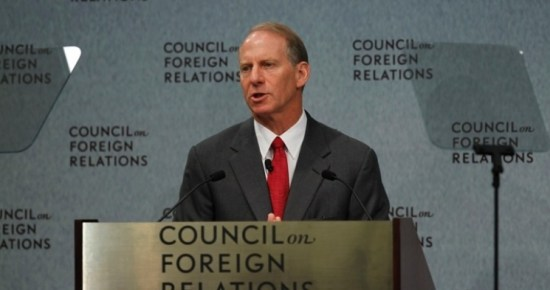 Richard Haass, Head of Council on Foreign Relations via targetliberty.com