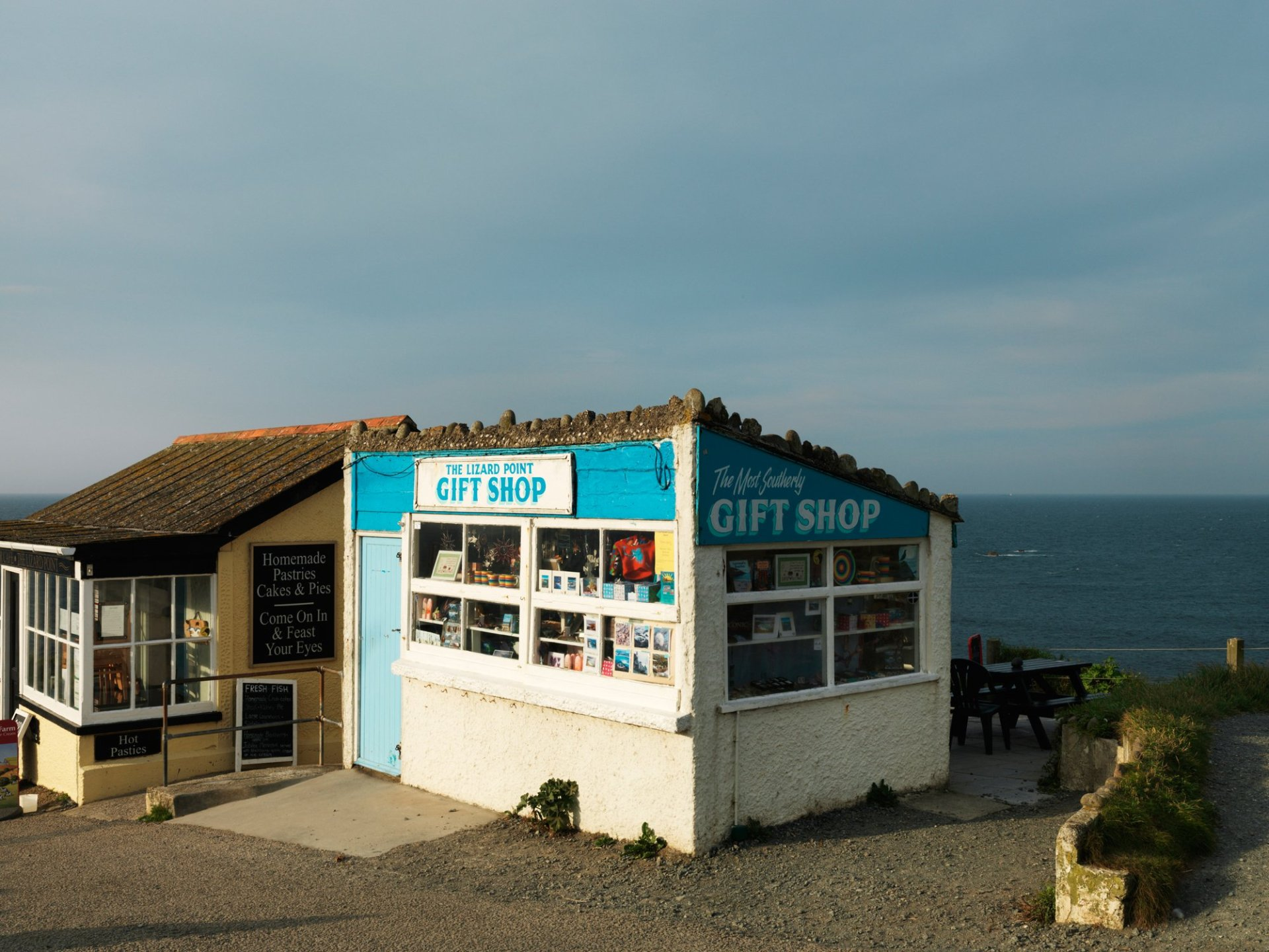 The Most Southerly Gift Shop Lizard point Cornwall 2012