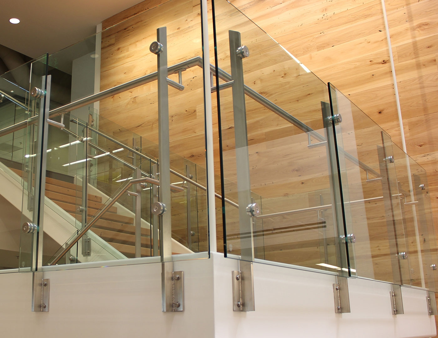 Stainless Steel With Glass Railing Price Modern Trex   Stainless Steel Staircase Railing Price   Interior   Outdoor   Glass   Wooden Railing   Handrail
