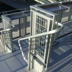 Gridguard Commercial Mesh Railings Trex Commercial Products