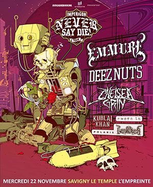 Never Say Die Tour 2017
