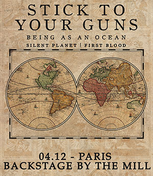 Stick To Your Guns en concert à Paris