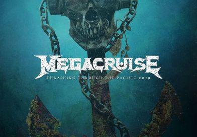 L'affiche du MEGACRUISE, le festival de MEGADETH
