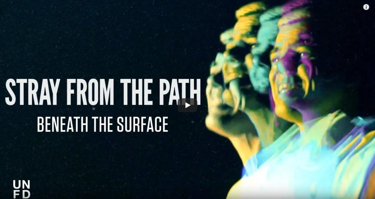 STRAY FROM THE PATH dévoile une vidéo pour «Beneath The Surface»