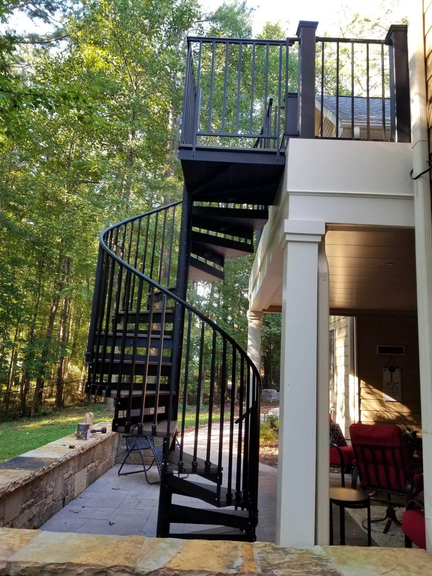 Discover The Ultimate Staircase Alternative Trex Spiral Stairs | Outdoor Spiral Staircase Near Me | Staircase Ideas | Staircase Kits | Balcony Railing | Oak70 Xtra | Wrought Iron