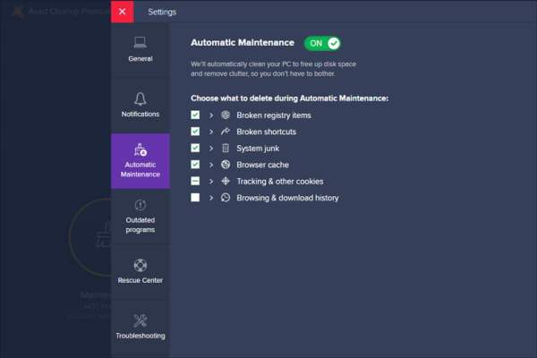 Avast CleanUp Premium interface1 Antivirusni programi