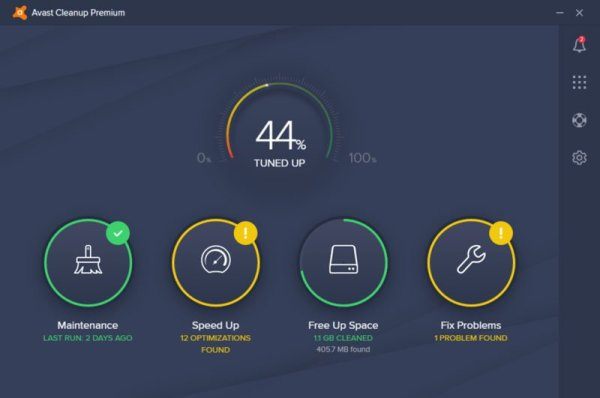 Avast CleanUp Premium interface2 Antivirusni programi
